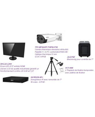 """Pack Black Body - Caméra + écran 21,5"""" + Trépieds + Enregistreur IP + Controle de T° - DA-PACK-BLACKBODY"""