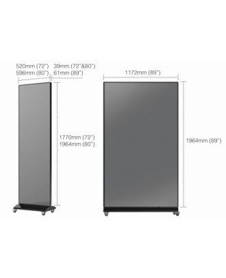 Totem e-boxx 1 Pitch 2.5mm 89p avec Player