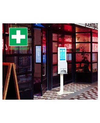 e-Boxx Health - Pied pour écran 21,5p EBH-21PSANTE - EBH-21PSTAND