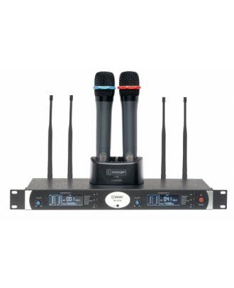 Ensemble micro UHF Diversity Rondson - 80 Fréq