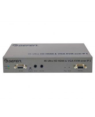 Emetteur Gefen Vidéo sur IP en KVM HDMI Ultra HD-4K, VGA EXT-UHDV-KA-LANSTX