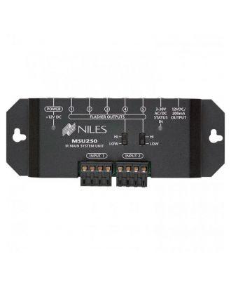 MSU250, Système principal pour une zone, répéteur IR, 2 entrée, 5 sor