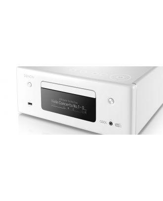 Micro-chaîne CD 2x65W Blanche Denon N11DAB
