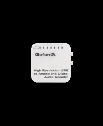 Décodeur Gefen audio/usb analogique/numérique