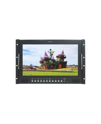 Ecran rackable LCD TFT 17,3 pouces HD-SDI HD-9173