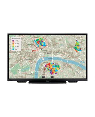 Ecran tactile interactif 20t 75 pouces PN75TH1 Sharp