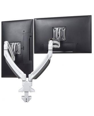 Support de bureau K1D Kontour blanc 2 écrans K1D220W Chief