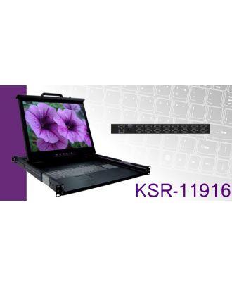 Système rack 1U LCD 19 pouces