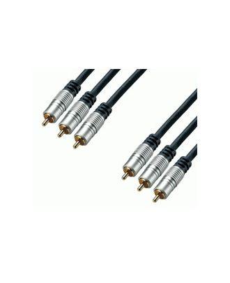 Cordon RCA audio et vidéo haute qualité