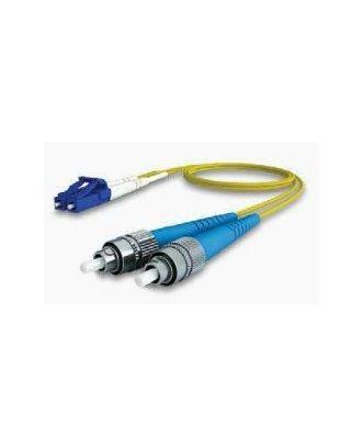 Jarretière monomode LC/UPC-FC/UPC 9/125 OS1 Duplex 15 m