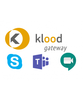 klood GATEWAY Teams / Google Meet - 100 à 499 Gateway - 1an