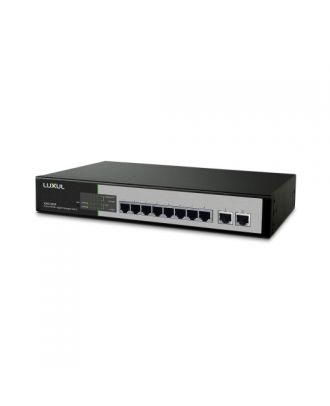 Switch manageable Gigabit 10 ports Luxul XMS-1010P-E