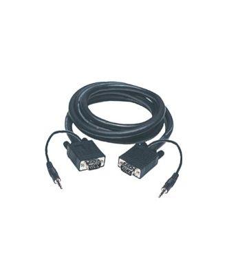 Cordon VGA + audio 10 m