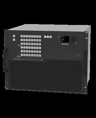 Châssis de routeur 24x24 - Full 4K@60Hz RGB 4:4:4 - 2 PSU PoE