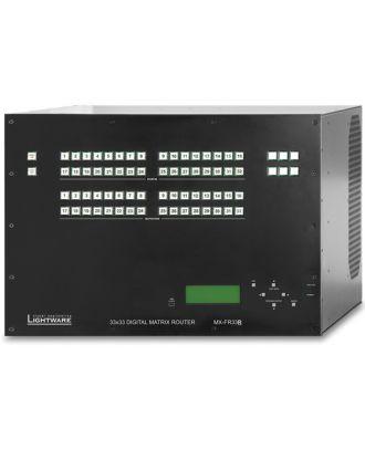 Châssis matrice Lightware 33x33 alimentation redondante