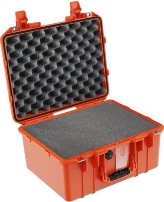 Peli-air valise pc1507 orange avec mousse v2
