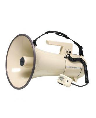 Porte voix Rondson avec sirène - 35 Watts Max. - Micro détachable sur cordon spiralé