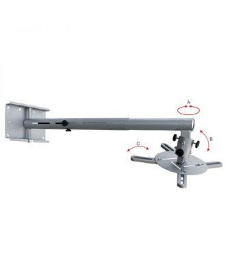 Support vidéoprojecteur à bras extensible - Gris - HA/3 OMB 26150