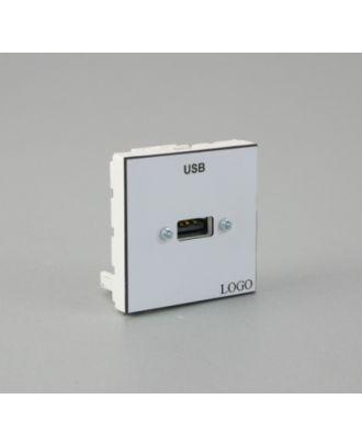 Plastron 45 + 1 USB A F
