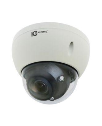 Caméra Dôme 5MP IP AI 2.7-13.5mm IK10 Vandal 40m IC Plus
