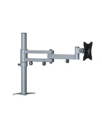 Support double bras SV04 argent EDBAK pour LCD et TFT de 19-26 pouces