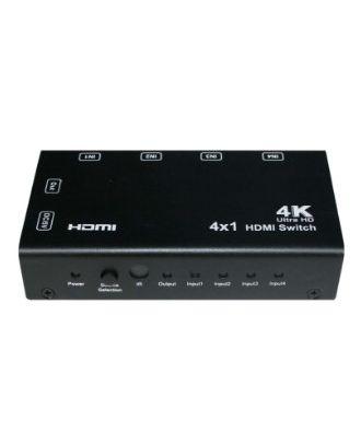 Switcher Hdmi 4x1 4K