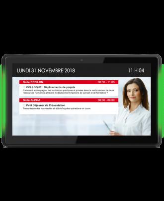 Tablette Android tactile pro 13,3p avec Barres LED + POE DXT00132L