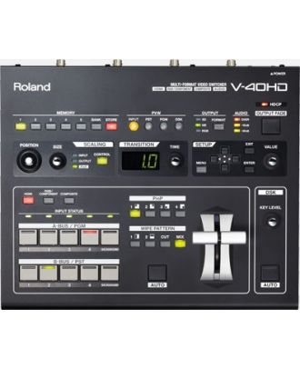 Mélangeur video 4 canaux HD- HDMI avec embedded audio Roland V-40HD