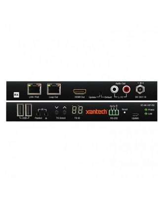 Xantech 4K Video Over IP Receiver with Audio Breakout