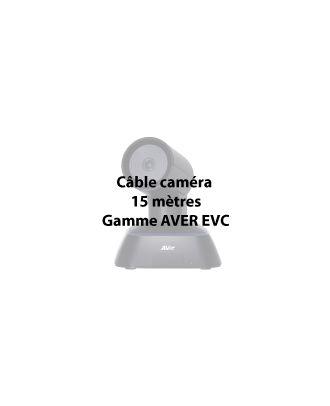 Aver - Câbles caméra EVC 15 mètres, 8-pin, propriétaire