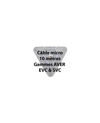 Aver - Câble microphone (EVC & SVC) 10m, propriétaire pour EVC & SVC