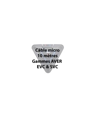 FDV - Câble microphone (EVC & SVC) 5 mètres