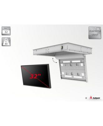 Support de plafond encastré motorisé pour écran plat FFCL-3032-OD Audipack
