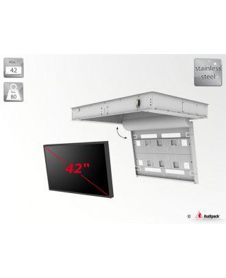 Support de plafond encastré motorisé pour écran plat FFCL-4042-OD Audipack