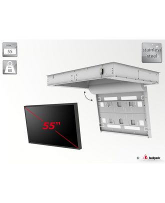 Support de plafond encastré motorisé pour écran plat FFCL-5255-OD Audipack