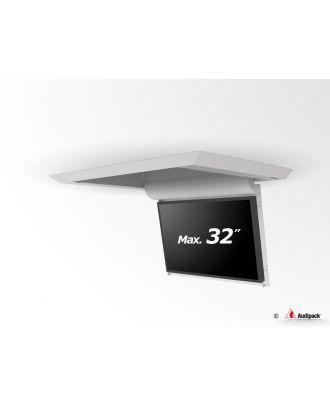 Support de plafond en surface motorisé pour écran plat FFCL-3032S Audipack