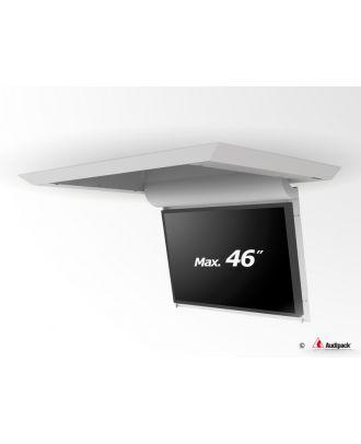 Support de plafond en surface motorisé pour écran plat FFCL-4046S Audipack