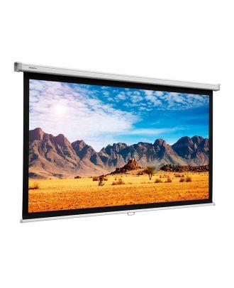 Projecta - Ecran SlimScreen 126x168 Blanc mat