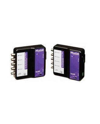Kit d'extension sur fibre optique 6G-SDI - monomode 80km