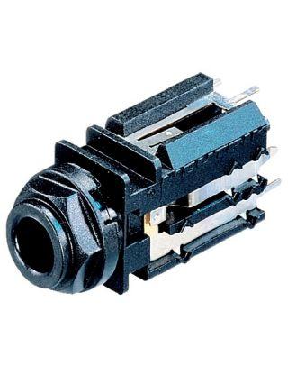 Embase jack 6,35mm pour C.I, mono - HA/400