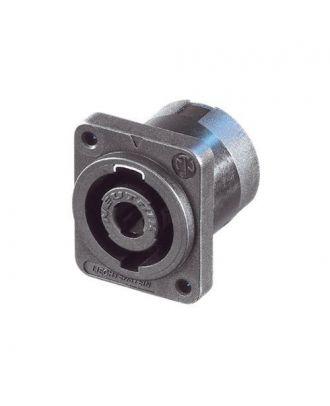 Embase speakon pour CI vertical pour vis couleur grise - HA/100