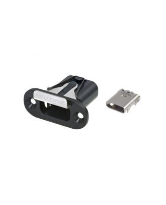 Chassis verrouillable USB-C (avec embase USB-C) - HA/50