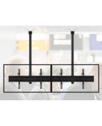 Edbak - Support de plafond pour écran 42p-57p dos à dos - Paysage