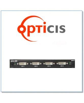 Opticis - Carte de sortie 4 ports DisplayPort 1.1