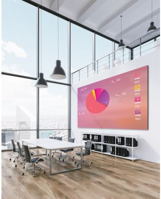 Optoma - Mur LED 180p Full HD 1080P P 2,0mm - 1000cd/m