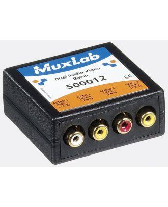 500012 Balun Muxlab Vidéo et double Audio