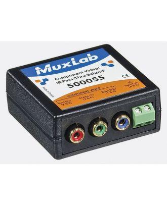 500055 Balun Muxlab VideoEase Composante Vidéo/IR Pass-Thru Femelle