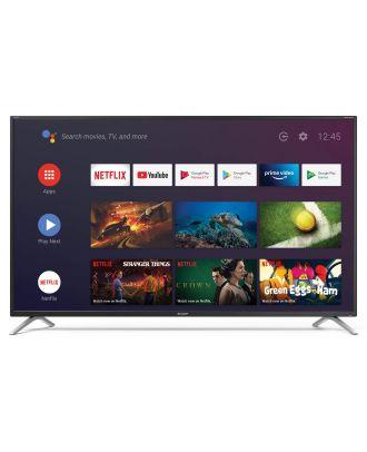 Sharp TV - Ecran 50p 4K UHD - Android - Google Assisant - Chromecast