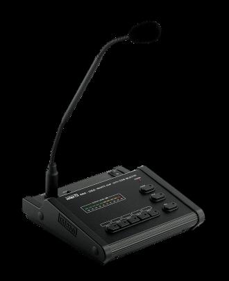 Majorcom - Pupitre micro 5 zones pour pam 340/480/510/520