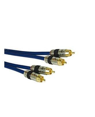 Câble Audio pro 15 m - Stéréo cinch, (m/m),15 m